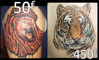 prix des tatouages