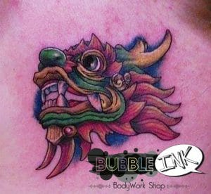 Tatouage Dragon vietnamien